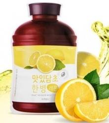 A'pieu Fruit Vinegar Sheet Mask Lemon Rozświetlająca maska w płachcie  20g