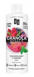 AA Granola Bowls płyn micelarny z tonikiem 2w1 400ml
