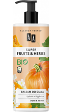 AA Super Fruits&Herbs balsam do ciała dynia/jaśmin 500ml
