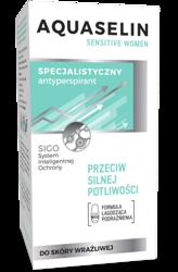 AQUASELIN Sensitive women Specjalistyczny antyperspirant przeciw silnej potliwości 50ml