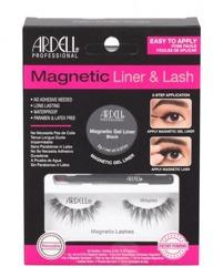 Ardell Magnetic Liner&Lash Magnetyczny eyeliner + sztuczne rzęsy Wispies