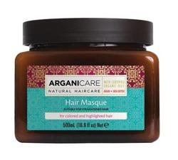 ArganiCare Hair Masque SHEA BUTTER Maska do włosów farbowanych i rozjaśnianych z masłem shea 500ml