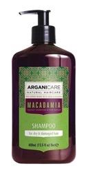 ArganiCare Hair Shampoo MACADAMIA Szampon do włosów z olejem makadamia 400ml