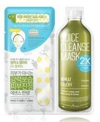 Ariul Juice Cleanse Mask 2X PLUS Wheat&Celery Maska do twarzy w płachcie