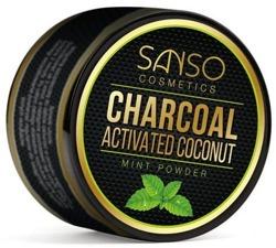 Asia Beauty Charcoal Mint Powder Sproszkowany węgiel kokosowy 30g
