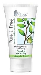 Ava Pure&Free peeling myjący do twarzy olej jojoba 150ml