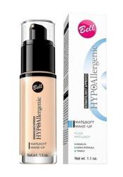 BELL Mat&Soft Make-Up fluid Matujący podkład do twarzy 02 natural 30g