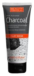 Beauty Formulas Charcoal - Maska do twarzy z aktywnym węglem 100ml