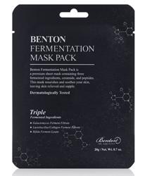 Benton Fermentation Mask Pack Odżywcza maska do twarzy w płachcie 20g