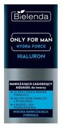 Bielenda Only for Man Nawilżająca-łagodzący krem do twarzy Hialuron 50ml