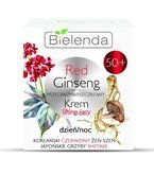 Bielenda Red Ginseng przeciwzmarszczkowy krem 50+ dzień/noc 50ml