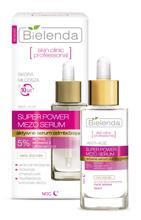 Bielenda Skin Clinic Professional Super Power Mezo - Serum Aktywne serum odmładzające na dzień i noc, 30 ml