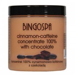 BingoSpa Koncentrat cynamonowo - kofeinowy z czekoladą 250g
