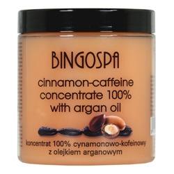 BingoSpa Koncentrat cynamonowo - kofeinowy z olejem arganowym 250g