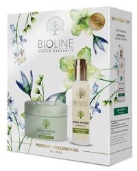 Bioline Zestaw prezentowy Glinka zielona + Olejek Moringa