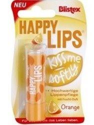 Blistex Happy Lips Kiss Me Softly Orange - Balsam do ust w sztyfcie