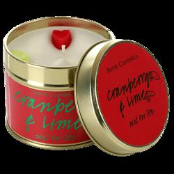 Bomb Cosmetics świeca zapachowa puszka Cranberry&Lime