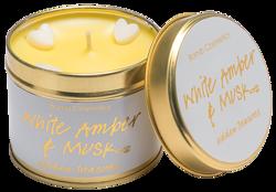 Bomb Cosmetics świeca zapachowa puszka White Amber&Musk