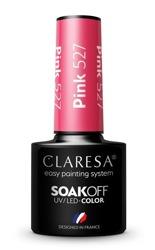 CLARESA Lakier hybrydowy Pink 527 5g