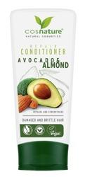 COSNATURE Naturalna regenerująca odżywka do włosów z awokado i migdałami 200ml