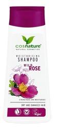 COSNATURE Naturalny nawilżający szampon do włosów z dziką różą 200ml
