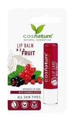 COSNATURE Naturalny ochronny balsam do ust z ekstraktem z czerwonych owoców 4,8g