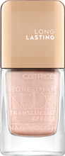 Catrice More than Nude  Lakier do paznokci 02 GLITTER IS THE ANSWER 10,5 ml