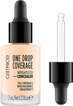 Catrice One Drop Coverage Płynny korektor kryjący 002 true ivory 7ml