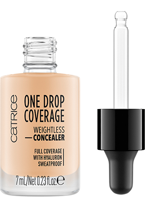 Catrice One Drop Coverage Płynny korektor kryjący 005 Light natural 7ml