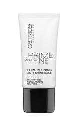 Catrice Prime And Fine Pore Refining Anti-Shine - Baza wygładzająco - matująca, 30 ml