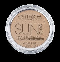 Catrice Sun Glow Bronzing Powder - Puder brązujący 030 medium bronze