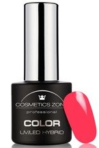 Cosmetics Zone Lakier hybrydowy N52 Shocking Pink 7ml