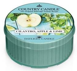 Country Candle Daylight - Świeczka Cilantro, Apple&Lime