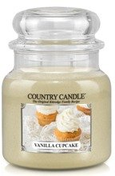 Country Candle Słoik średni Vanilla Cupcake 453g