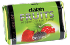 DALAN Fruits mydło w kostce Berries 100g