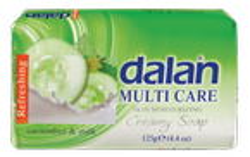 DALAN Multi Care mydło w kostce Cucumber&Milk 90g