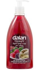 DALAN Therapy mydło w płynie Czerwone Owoce&Imbir 400ml
