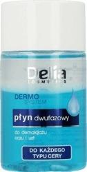 DELIA Dermo System Płyn dwufazowy do demakijażu oczu i ust 50ml