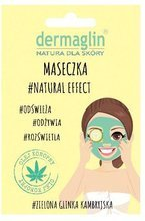 DERMAGLIN maseczka oczyszczająca #Natural Effect 20g