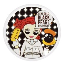 DEWYTREE Real Gold Black Pearl Eye Patch Hydrożelowe płatki pod oczy 90g