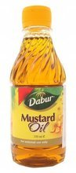 Dabur Mustard oil Olej musztardowy 250ml