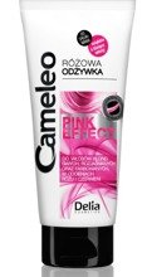 Delia CAMELEO PINK EFFECT Intensywnie regenerująca odżywka do włosów z efektem różowych refleksów 200ml