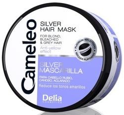 Delia Cameleo Silver Hair Mask - Maska do włosów blond, siwych i rozjaśnianych 200ml