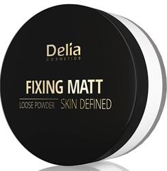 Delia FIXING MATT Loose Powder Utrwalający puder sypki 41 White 20g