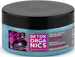Detox Organics maska white clay&blueberry 100ml