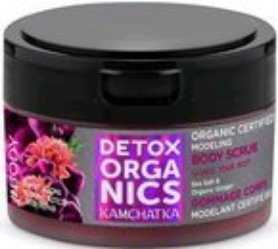 Detox Organics peeling solny Sea Salt&Ginger 200ml