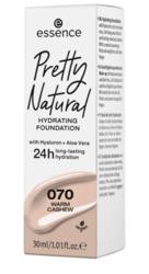 Essence Pretty Natural Nawilżający podkład do twarzy 24h 070 Warm Cashew 30ml