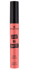Essence Stay 8h MATTE Liquid Lipstick Matowa pomadka w płynie 03 Down to earth 3ml