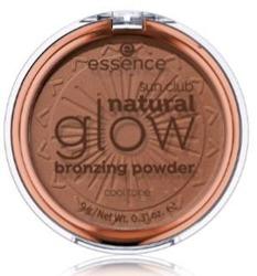 Essence Sun Club Natural GLOW Bronzer Puder brązujący 02 Cool Tone 9g