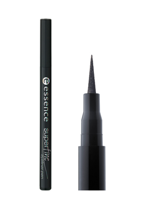 Essence Superfine Eyelinr Pen - Super cienki eyeliner w pisaku 01 Deep Black, 1 ml